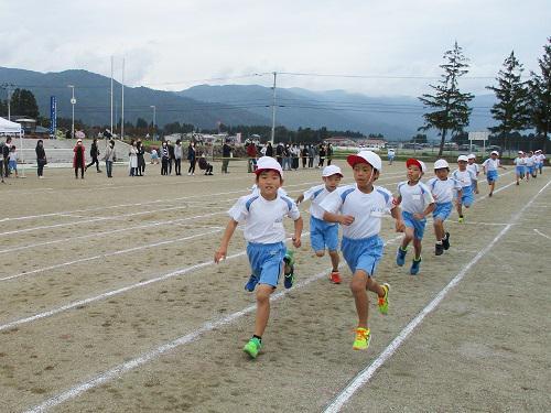 第一小学校陸上記録会4 中距離走