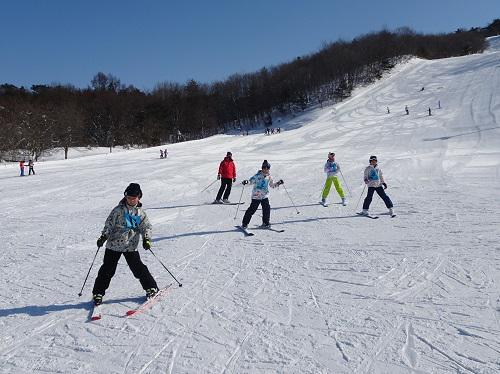 スキー教室が始まりました