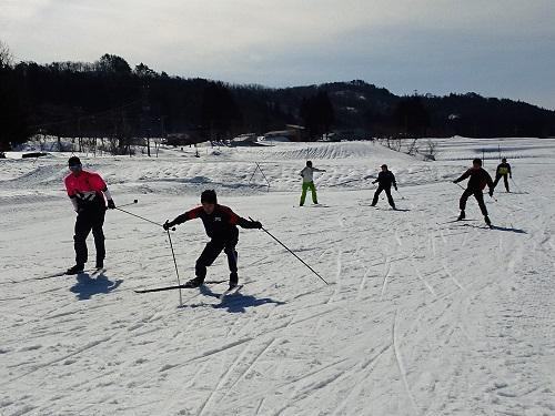今年最後のスキー教室終了