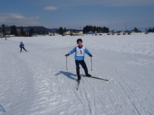 町スキー大会