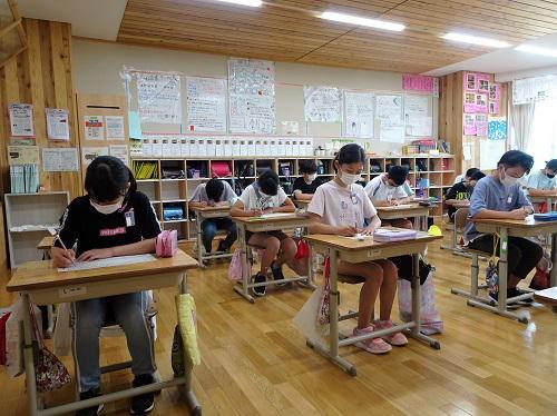 全校漢字テスト