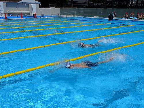 水泳授業始まる!