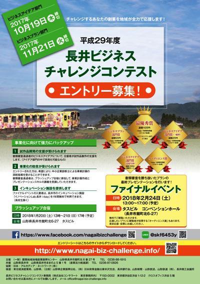 長井ビジネスチャレンジコンテストが開催されます:画像