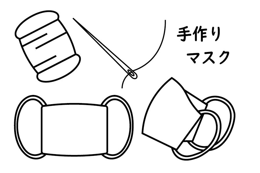 【お知らせ】手作りマスク de いいで!プロジェクト:画像