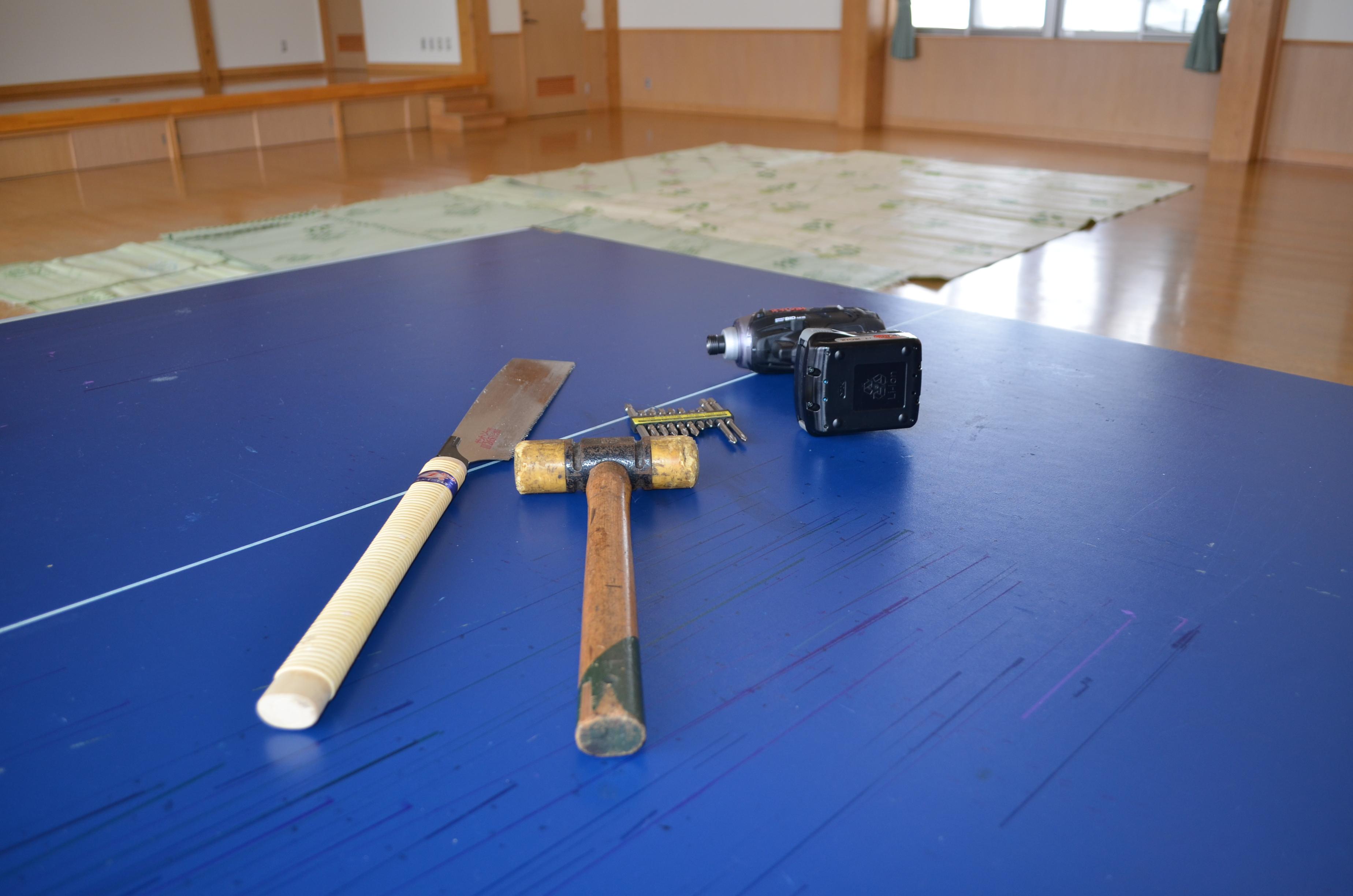 DIY教室の準備完了!:画像