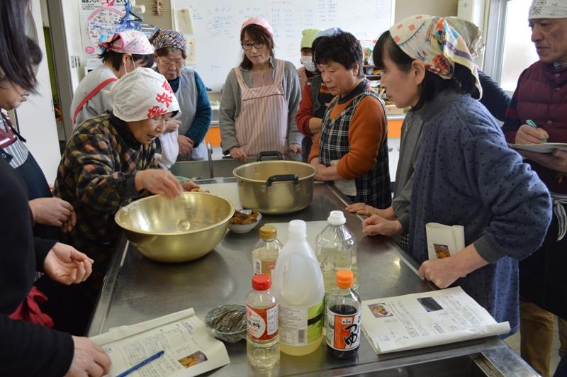 いいでの郷土料理を守り伝える講習会:画像