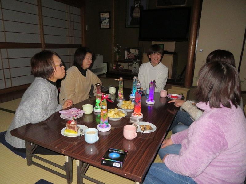 秋桜倶楽部クリスマス会(白椿地区公民館):画像