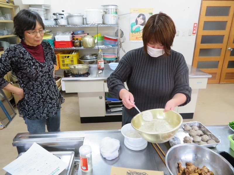 飯豊町公民館女子会 餅作り講習会(白椿地区公民館):画像