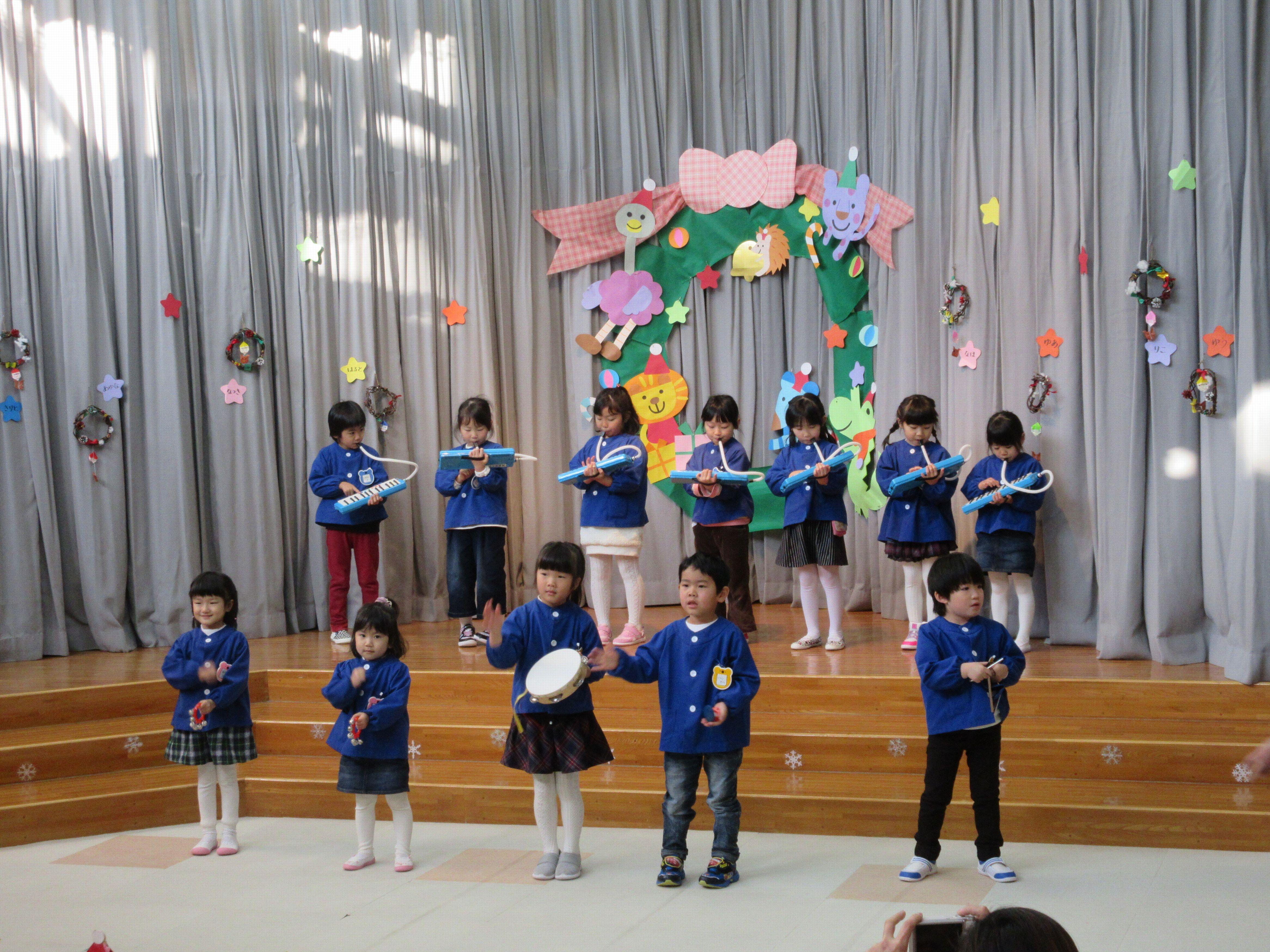 さわやかクラブ幼稚園のクリスマス会に参加して:画像