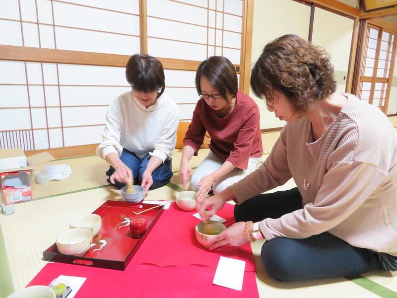 秋桜倶楽部お抹茶教室(白椿地区公民館):画像