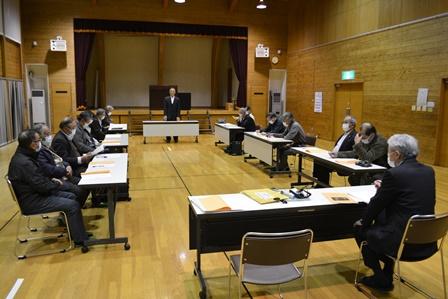 令和3年度 東部地区「新旧地区長会総会」開催:画像