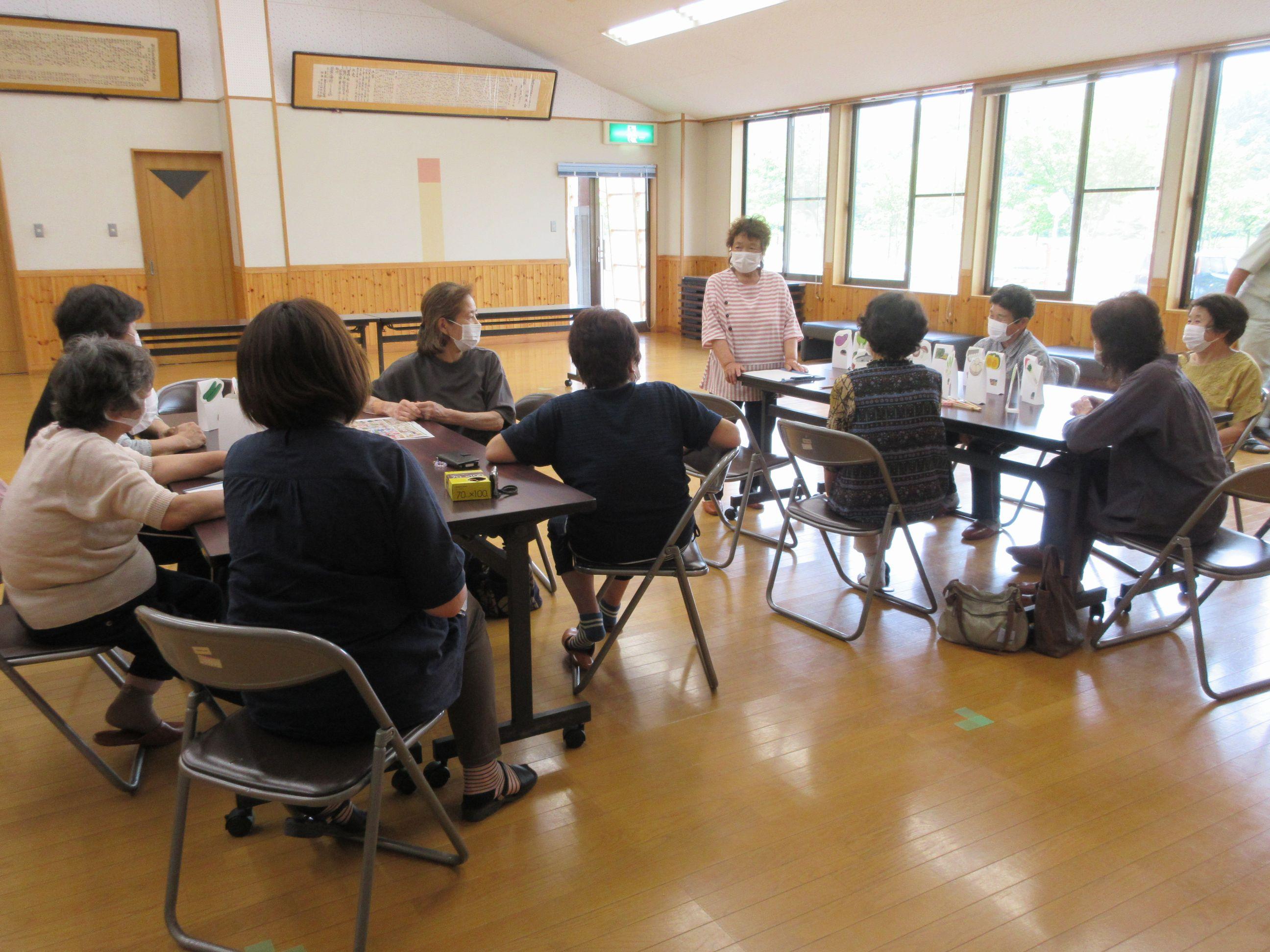 婦人教室「さわやかクラブ」ゲームの日:画像