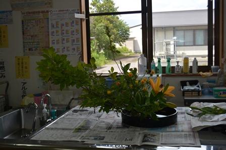 東部地区生花教室開校:画像