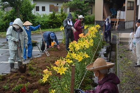 東部地区高砂会ボランティア活動実施:画像