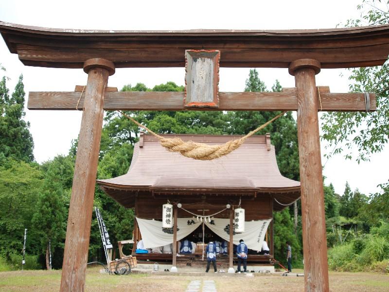 小白川神社前夜祭