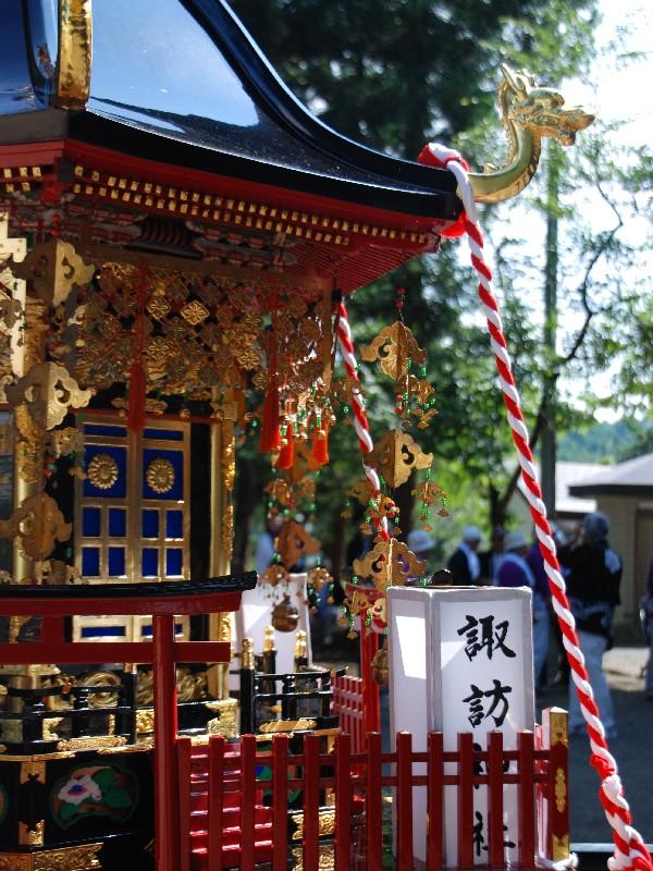 萩生諏訪神社前夜祭