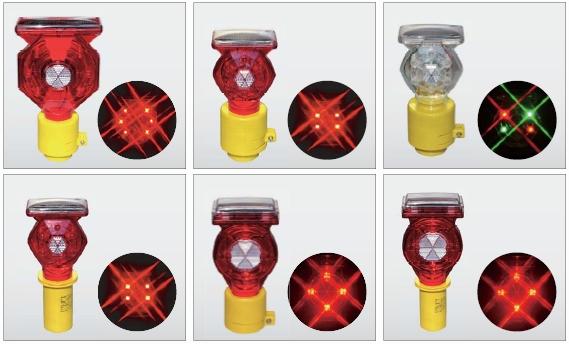 LED保安灯・警告灯 「ソーラー式セフティーフラッシュ」:画像