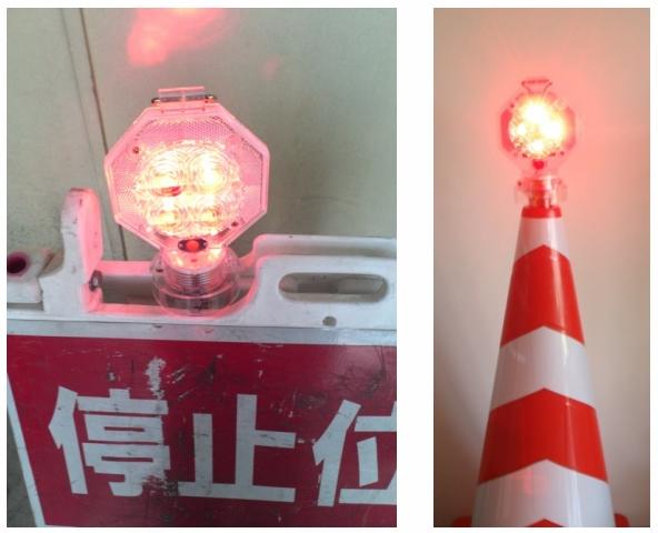 LEDスタミナ注意灯 「フラッシュ光太郎」:画像