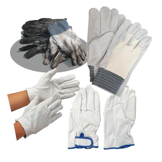 労働安全事故から、身を守る 皮手袋各種:画像