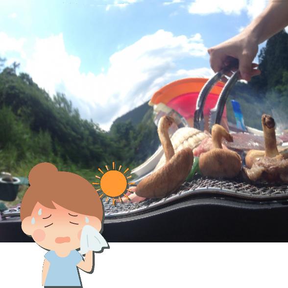 アウトドア・キャンプ初心者のための気を付けたい!熱中症対策:画像