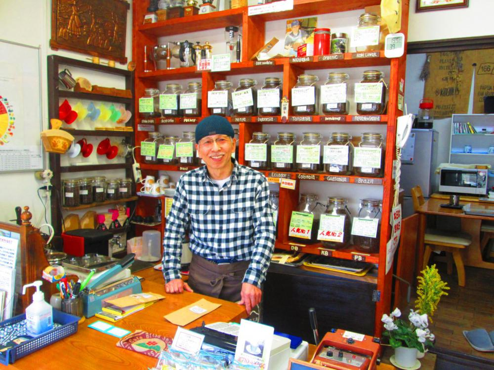 昨日、「蔵王の森焙煎工房 旅籠町店」さんに行っておじゃましてきました