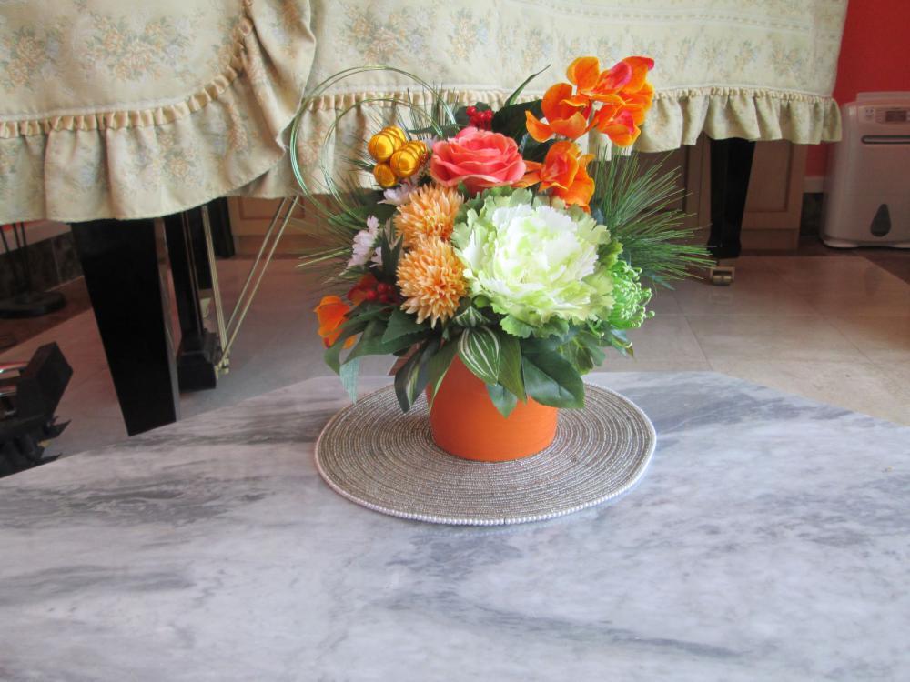 プライベートブティックikoi用にレンタルで飾り造花をお願いしました