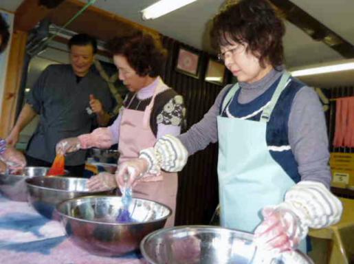 2011/11/10 13:35/今年も開催しました、婦人の集い・・・小野川温泉にて