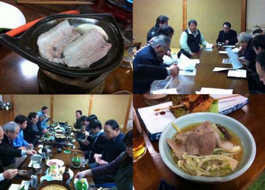 2013/02/19 08:40/朝日町の放牧豚「あっぷるニュー豚」勉強会