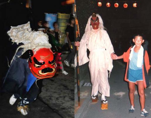 2014/08/17 06:58/大谷風神祭の代々神楽と天狗について