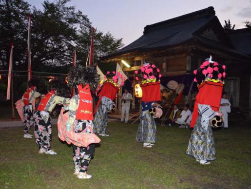 2014/08/18 06:06/大谷獅子踊りの思い出
