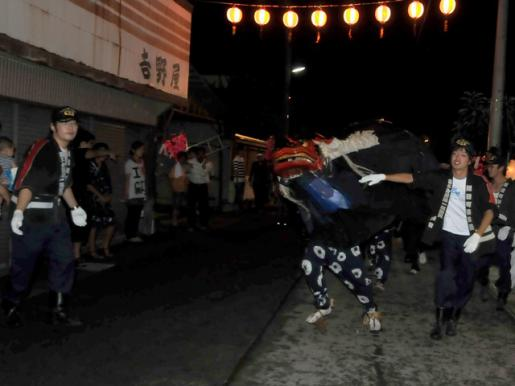 2014/08/18 06:18/大谷風神祭の消防団