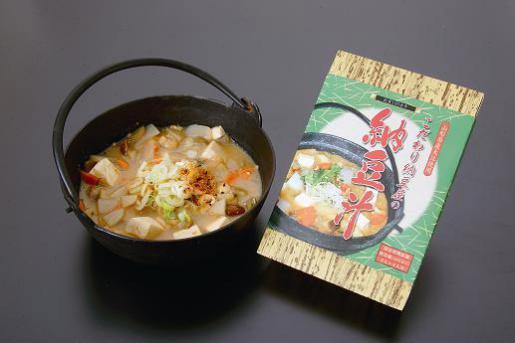 2010/10/22 17:11/【H22優秀賞】こだわり納豆屋のなっとう汁 | サガエ納豆食品