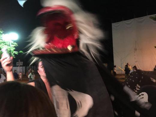 黒獅子祭り/