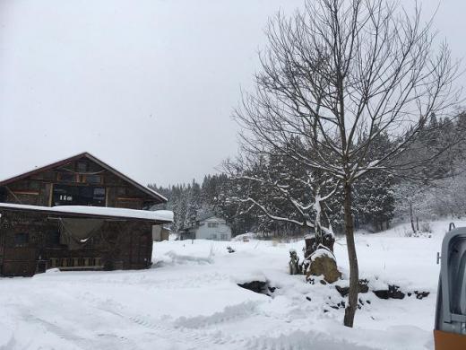 豪雪地域の/