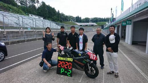 2020SUGOminibike6時間耐久レース /
