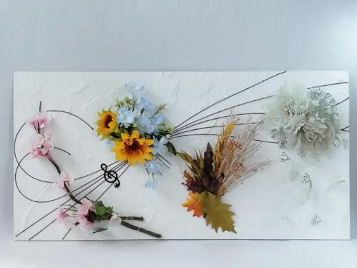 メロディ|えがお花-Artificial Flower/
