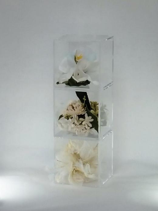 てのり花-TRIANGLE|白い花/