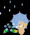 梅雨入りしました: