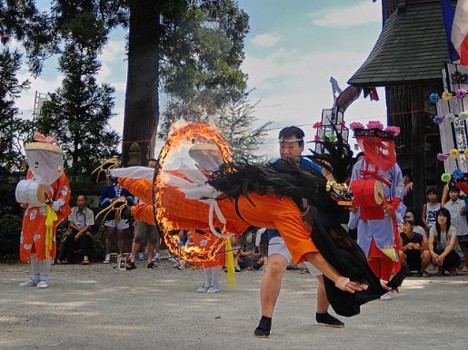 2011/11/22 09:45/川西町の祭り(小松豊年獅子踊)
