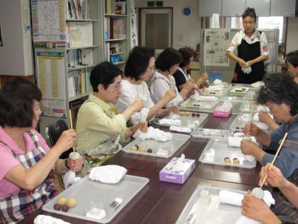 ライフモアイベント『和菓子作り教室』レポート/