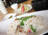 「「つばめ食堂」湯田まいたけのピラフでランチ」画像