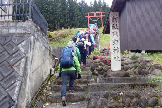 熊野神社鳥居/
