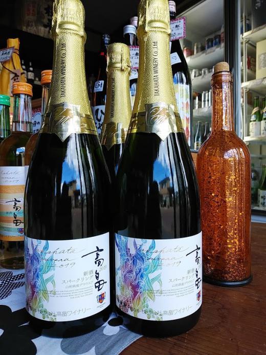2019【高畠ワイン 新酒スパークリングワイン】/