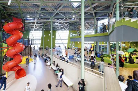 2015/07/03 13:00/「天童市子育て未来館 げんキッズ」が第9回キッズデザイン賞を受賞致しました。
