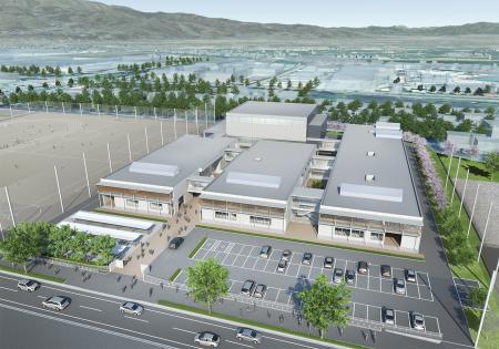 2020/07/22 18:00/山形県立寒河江工業高等学校改築整備事業において、羽田設計案が最優秀に選定されました!