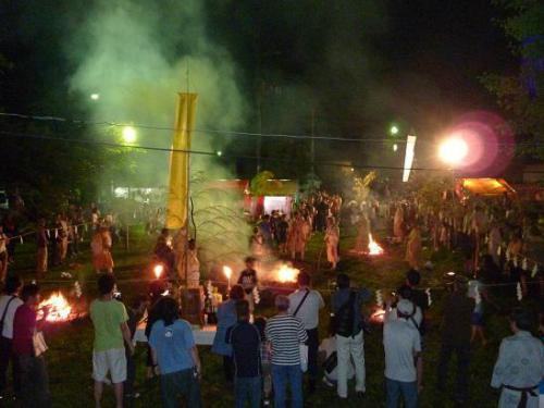 「火渡り式」の画像
