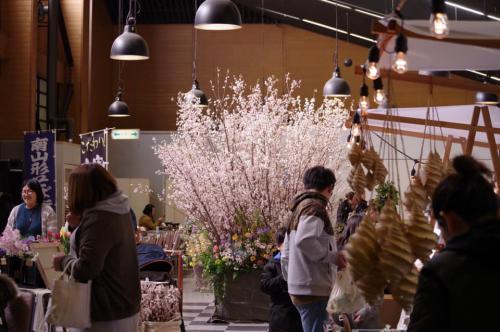 「さくら咲くチサンマーケット 参加します!」の画像