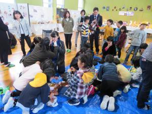 「白椿地区公民館館報 文化祭編」の画像