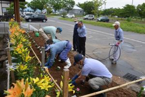 「東部地区高砂会ボランティア活動実施」の画像