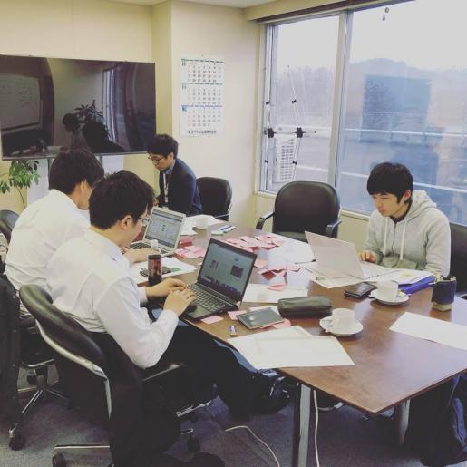 2018/12/22 15:33/ハッカソン開催中